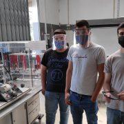 EPV apoia instituições da região através da produção de viseiras