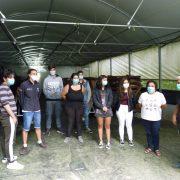 Alunos da EPV dos cursos de Restauração visitam produções agrícolas biológicas e tradicionais de Vouzela